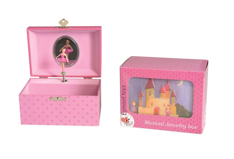 Knox and Floyd Imports MUSICAL JEWELRY BOX PRINCESS
