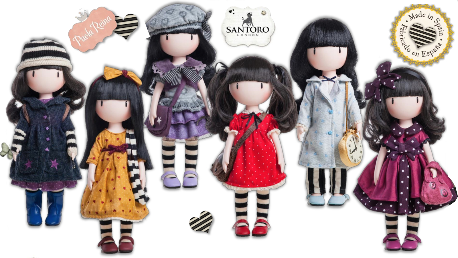 Stocking Santoro Dolls!