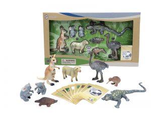 WENNO AUSTRALIAN ANIMALS WITH KIWI