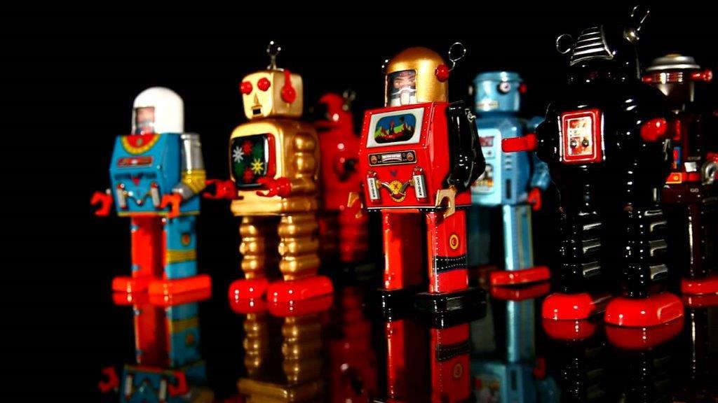 Tin toys  &   Robots