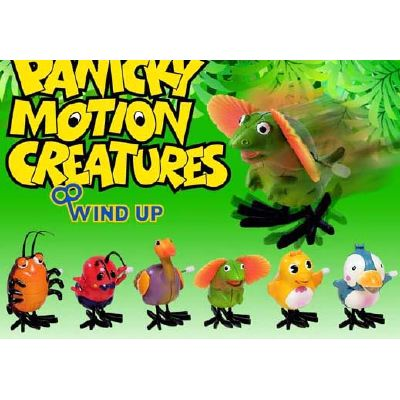 Wind-up PANICKY CRITTERS