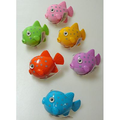 Wind-up GLOBE FISH