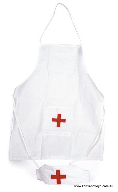 Egmont Nurses Apron & Hat