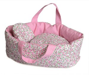 Egmont Large Soft Carry Cot with Flowers
