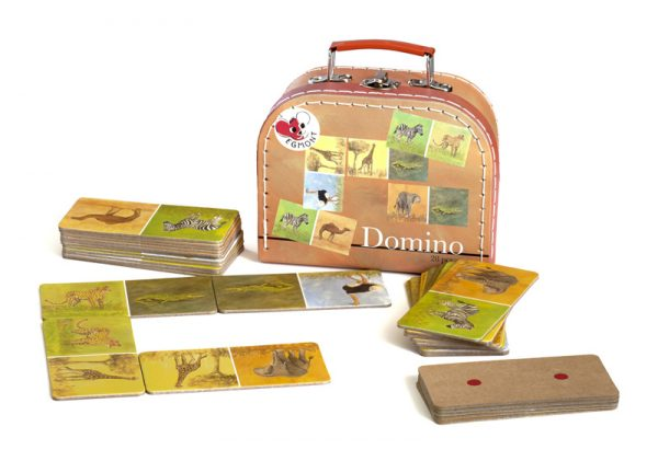 Domino set- pictures and dots