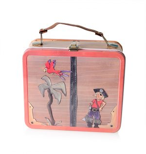 TIN LUNCH CASE - PIRATES