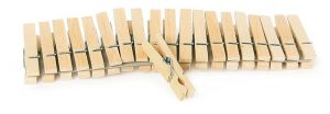 WOODEN PEGS - 100 PCS