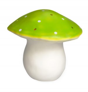 Nightlight - Large Green Mushroom