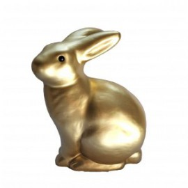 Nightlight - Gold Rabbit