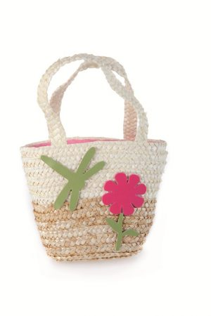 Shopping Bag - Natural with Dragonfly
