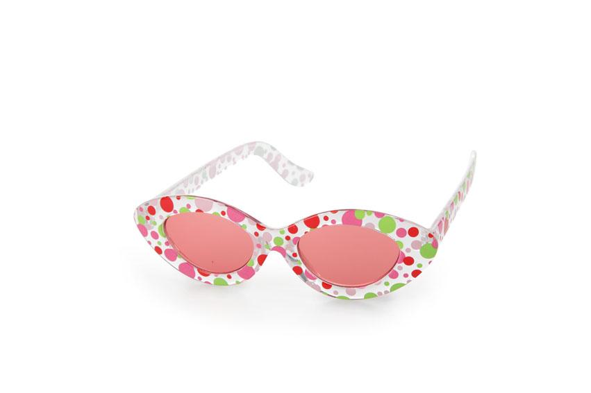 Sunglasses - transparent dots