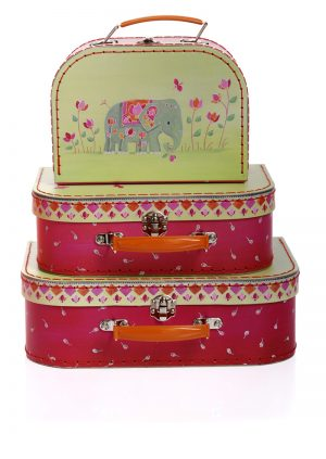 Suitcase set - Indian elephant