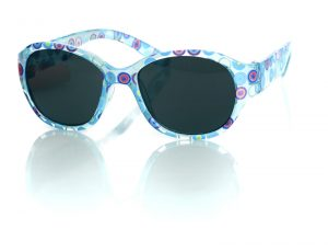 Sunglasses - Blue Circles