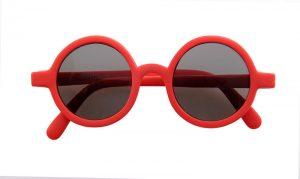 Sunglasses - Baby Round Red