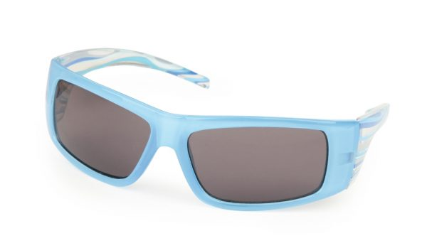 Sunglasses - Striped Blue