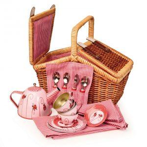Egmont Tin Teaset - Ladybug in Basket