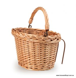 Egmont Wicker Bicycle Basket