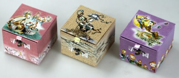 Music boxes - 3 tunes