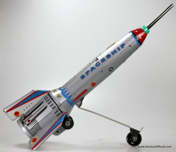 Rocket, elevating action