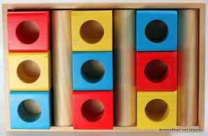 Toby Toys  Wooden FIRST BLOCK SET