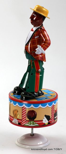 Tin toy - Dancing Minstrel
