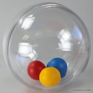 Ball bath toy - large beads