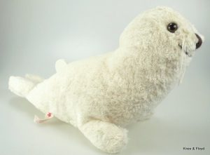 Kalisto organic cotton soft toy, BABY SEAL