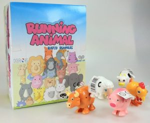 Wind-Up Running Farm Animals