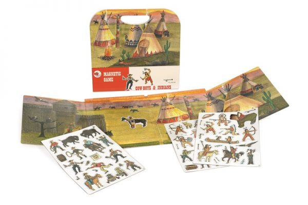 Egmont Magnetic Game - Cowboys & Indians
