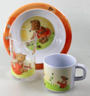 Melamine dinnerware - Remi Bear