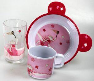 Melamine dinnerware - Twiggy Mouse