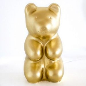 EGMONT LAMP JELLY BEAR GOLD