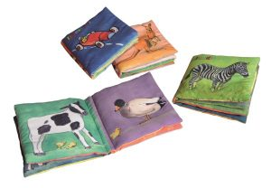 EGMONT FABRIC BOOKS 12 PCS ASST (3 X 4 DESIGNS)
