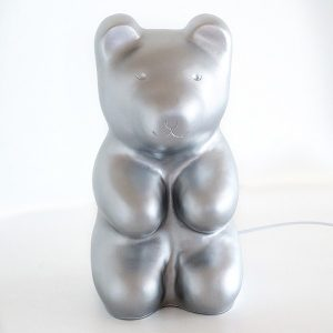 EGMONT LAMP JELLY BEAR SILVER