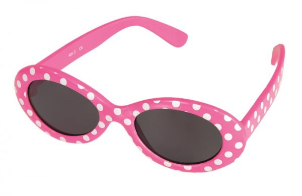 EGMONT SUNGLASSES BABY FUSHIA WITH DOTS