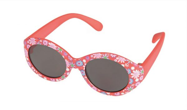 EGMONT SUNGLASSES BABY RED WITH FLOWERS