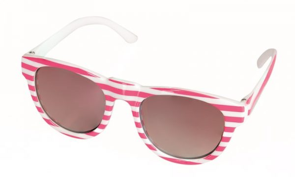 EGMNT SUNGLASSES WITH PINK LINES