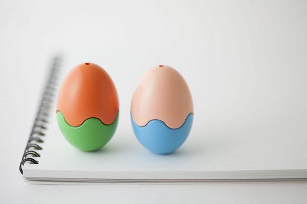 Primomo Non-Toxic Washable Crayon Egg 12 Colours