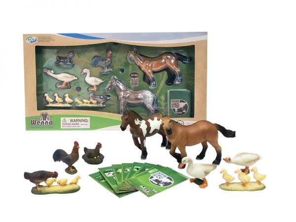 WENNO FARM ANIMALS 8 PCS