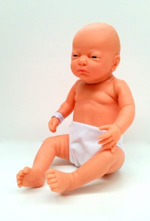 NEWBORN WHITE BOY 50cm
